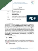 Ejemplo INFORME MENSUAL OPERADORES DE ESTACION