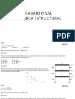 Examen Final Dinámica Estructural