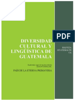 diversidad cultural y linguistica de Guatemala