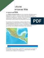 Las 10 Culturas Mesoamericanas Más Importantes