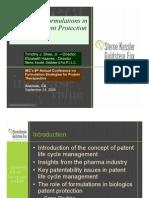 Biologics Patent Protection