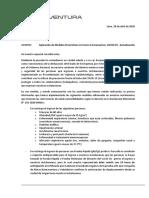 Medidas Preventivas - Protocolo v10