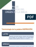Clase_Principales Argumentos del Origen de la Biblia