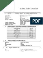 MATERIAL SAFETY DATA SHEET- NIGHT        CREAM 1 NEW
