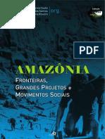 Livro Amazonia Fronteiras Grandes Projet