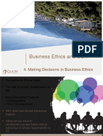 Module 4  Making Decisions in Business Ethics Part I