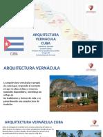 ARQUITECTURA VERNÁCULA CUBA