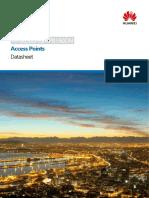 Huawei AP8050DN&AP8150DN Access Points Datasheet
