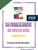 LGAJLJ Tome 3 - Exercices Structuration Pour Livret a5