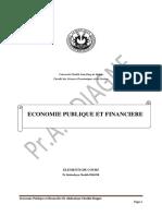 ECONOMIE PUBLIQUE ET FINANCIERE Germael