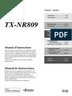 Onkyo Manual TX-nr809 Fres Web