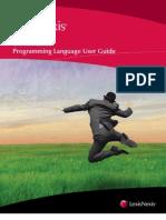 Concordance Programming Language User Guide