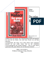Wallace, Edgar - Der grüne Brand