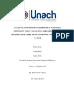 Investigacion gormativa, dinamica de estructuras