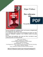 Wallace, Edgar - Der Schwarze Abt