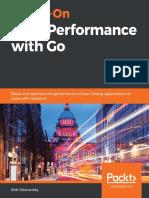 Bob Strecansky Hands on High Performance With Go Packt 2020