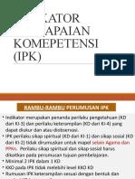 2a. IPK DAN MATERI