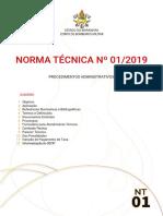 Nt 01 2019 Procedimentos Administrativos