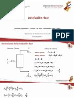 5 Destilación Flash
