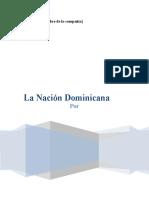 Trabajo sobre la Republica Dominicana