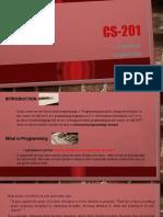 CS201 Lesson 1 PPT Files