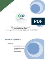 exposé cadre de référence