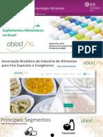 Dra. Tatiana Pires ABIAD Suplementos Alimentares Apresentação TP No ILSI 12-06-2017