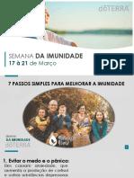 SEMANA DA IMUNIDADE - Marizete Neves