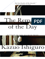 The Remains of the Day (Excerpt)