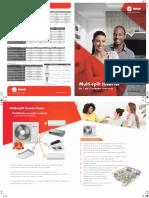 TRANE catalogo-comercial-multisplit-inverter