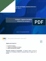 TALLER DE SOFTWARE ADMINISTRATIVO I - CLASE 3