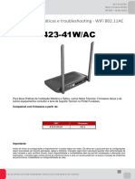 NT - 423 -41WAC - Guia de boas práticas e troubleshooting de WiFi