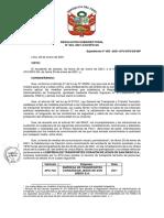 resolución 004-2020  y cargo