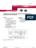 Accelerometer C3000-D01