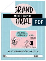 LE GRAND ORAL DOSSIER COMPLET