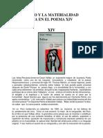 LO ABSURDO Y LA MATERIALIDAD LINGÜÍSTICA EN EL POEMA XIV DE TRILCE
