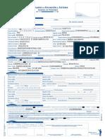 AMR Formulario de Afiliación Al Sistema General de Pensiones