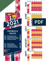 2021 M-Braves Schedule