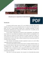 Elementos Para La Comprensión de La Historicidad Mbya Guaraní