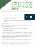 Analisi RAMS e attività di Verification & Validation per sistema antincendio treno ETR675 _ Zetalab