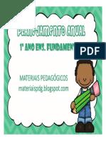 PLANEJAMENTO 1º ANO - MATERIAIS PEDAGÓGICOS-1