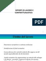 Contrattualistica -Diritto del Lavoro