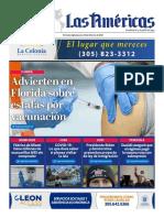 Portada Digital de Diario Las Américas