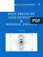 High Pressure Geochemistry and Mineral Physics
