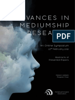 Advances in Mediumship Research - Abstracts of Presented Papers