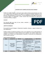 PROTOCOLO DESINFECCION  LIMPIEZA A&A SOLUCIONES