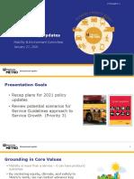 King County Metro - Metro Policy Updates Presentation - January 2021