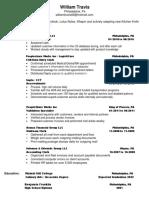 wills portfolio resume  3