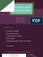 1.6 Conjuntos numéricos importantes (1)