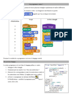 De Scratch à Python Élève